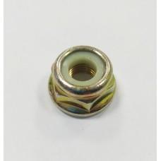 Гайка М10 х 1,25 (редуктора мотокосы с левой резьбой, стопорное кольцо).