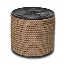 Верёвка кручёная джутовая 10,0.